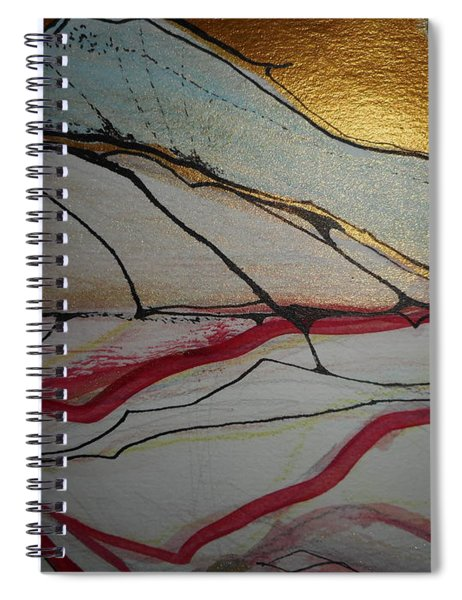 Abstract-12 Spiral Notebook