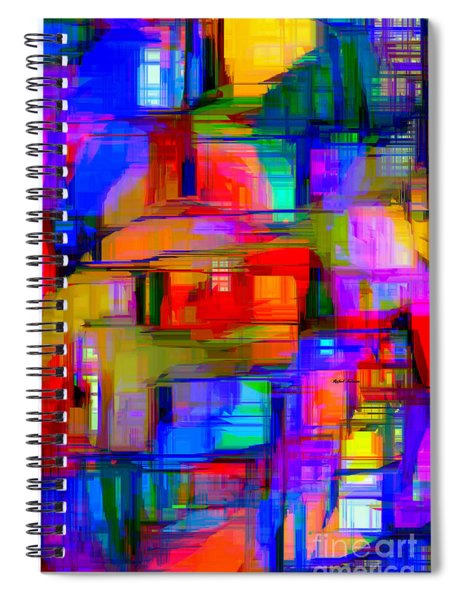 Abstract 1293 Spiral Notebook
