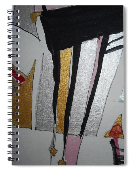 Abstract-13 Spiral Notebook