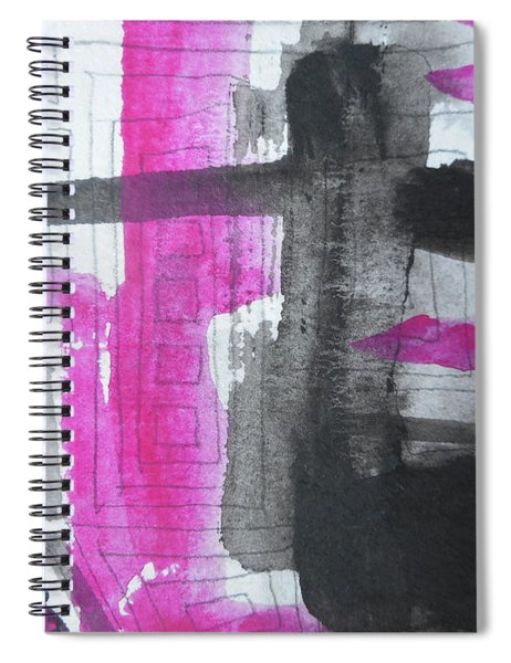 Abstract-15 Spiral Notebook