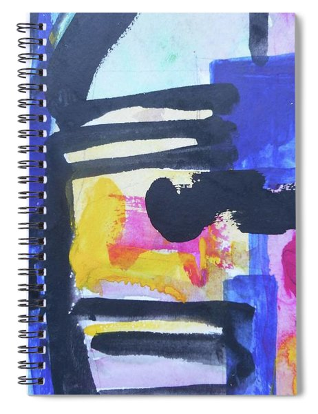 Abstract-16 Spiral Notebook