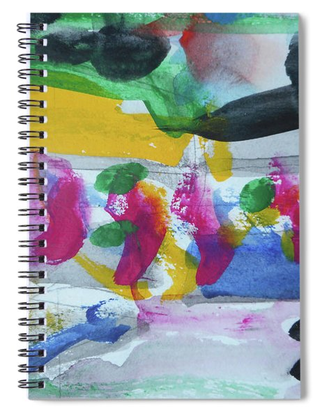 Abstract-17 Spiral Notebook