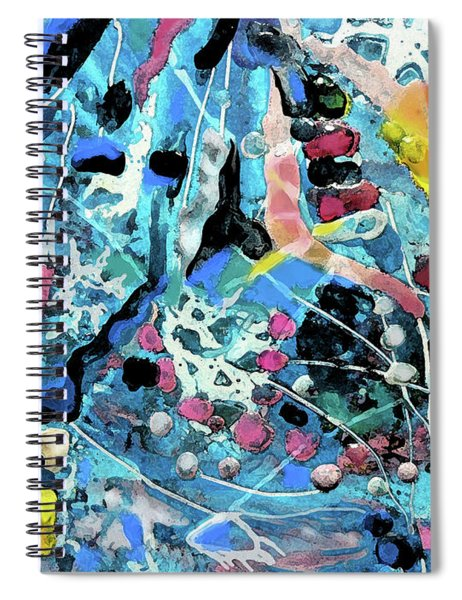 Abstract 175 Detail Spiral Notebook
