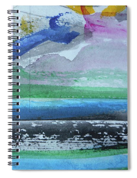 Abstract-18 Spiral Notebook