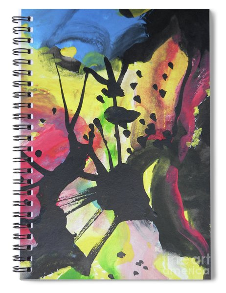 Abstract-2 Spiral Notebook
