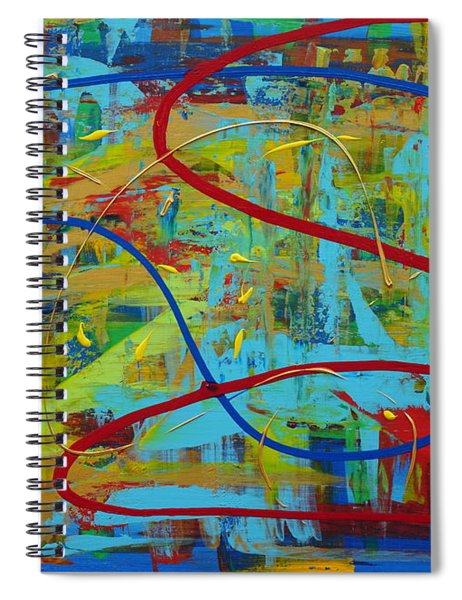 Abstract 2_untitled Spiral Notebook