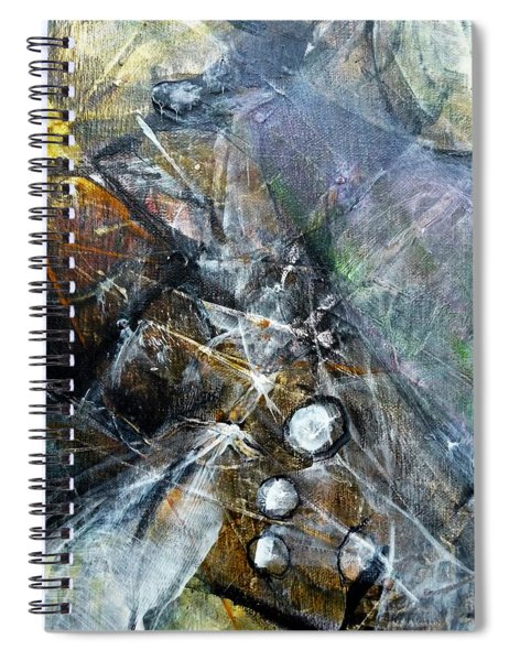 Abstract #328 Spiral Notebook