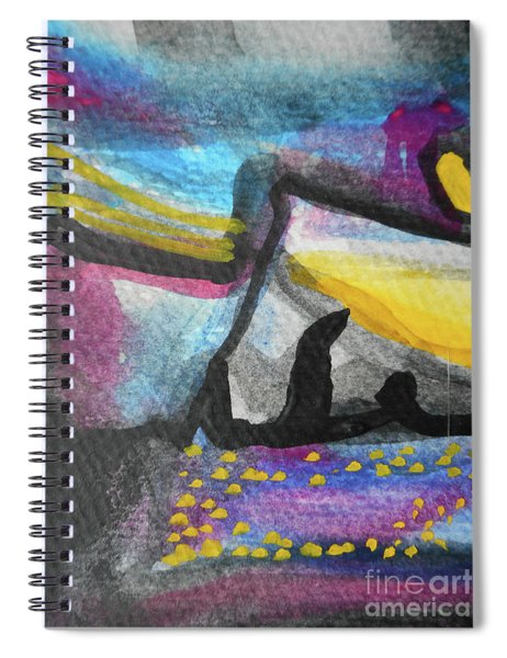 Abstract-4 Spiral Notebook