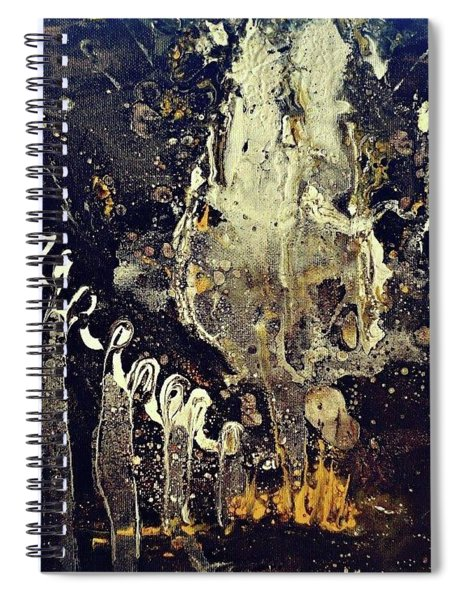 Into The Ether Spiral Notebook