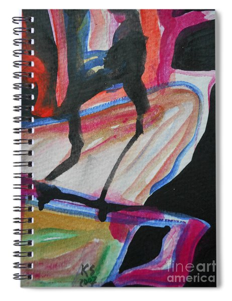 Abstract-5 Spiral Notebook