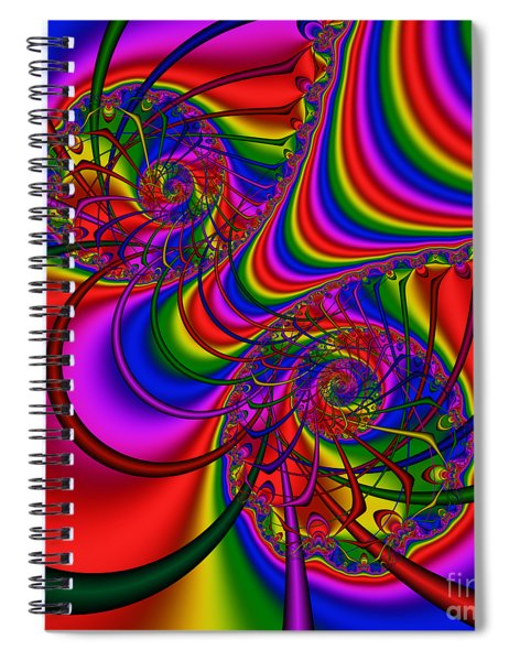 Abstract 511 Spiral Notebook