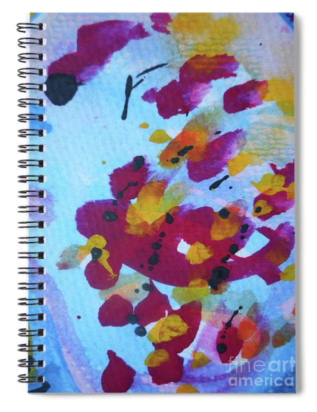 Abstract-6 Spiral Notebook