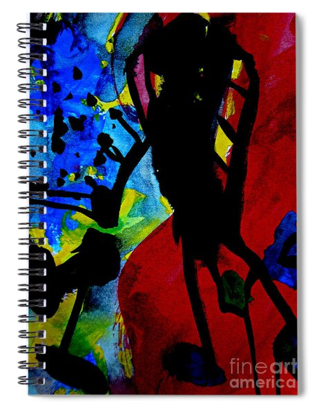 Abstract-7 Spiral Notebook