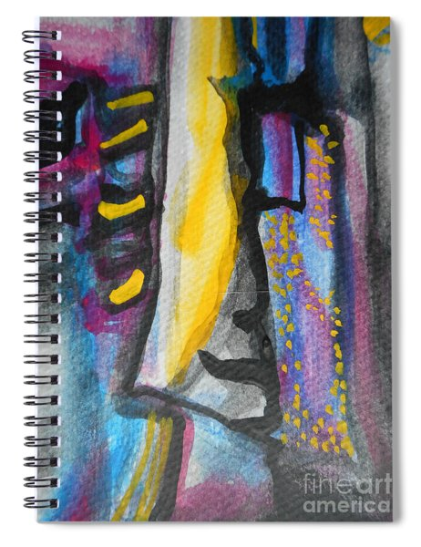 Abstract-8 Spiral Notebook