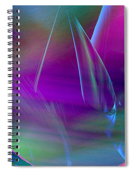 Abstract 845 Spiral Notebook
