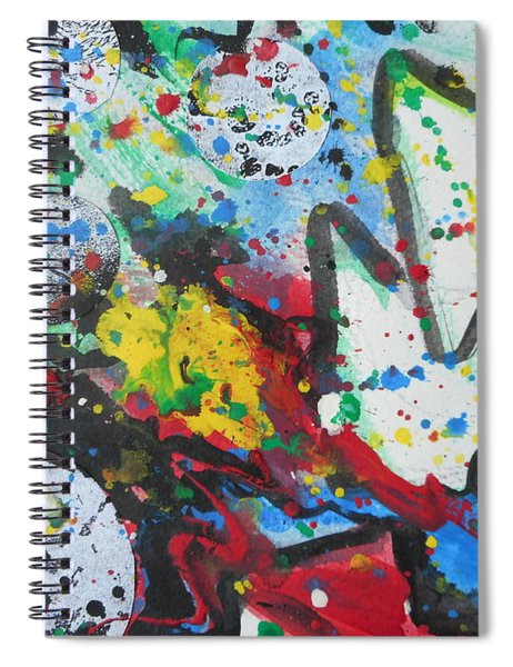 Abstract-9 Spiral Notebook