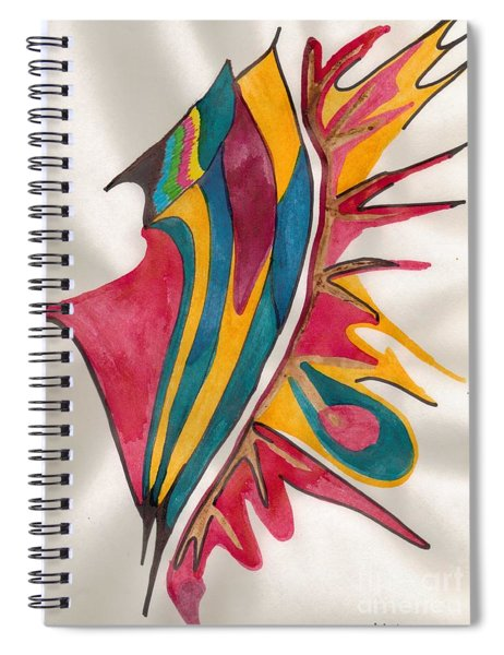Abstract Art 102 Spiral Notebook