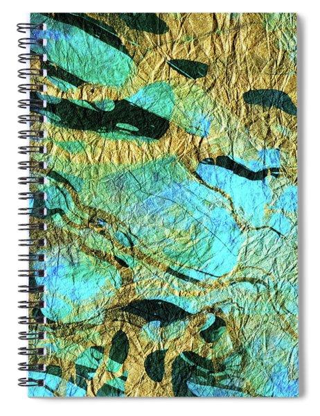 Abstract Art - Deeper Visions 3 - Sharon Cummings Spiral Notebook