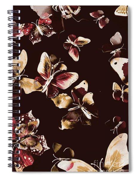 Abstract Butterfly Fine Art Spiral Notebook