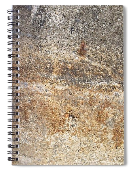 Abstract Concrete 17 Spiral Notebook