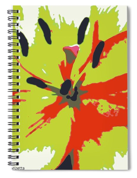 Abstract Expression 218 Spiral Notebook