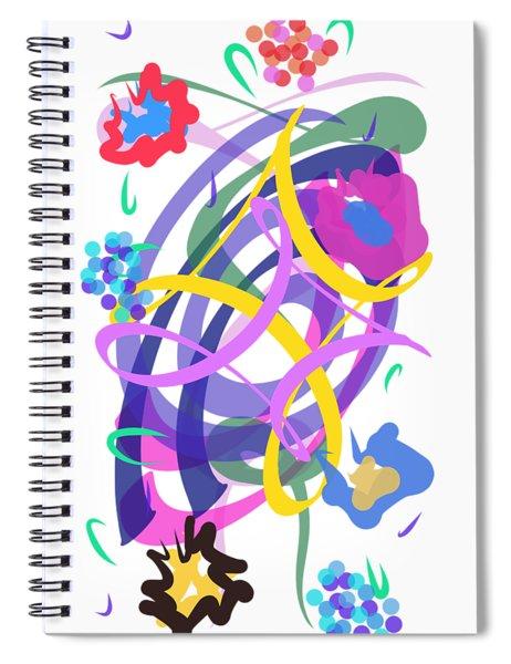 Abstract Garden #2 Spiral Notebook