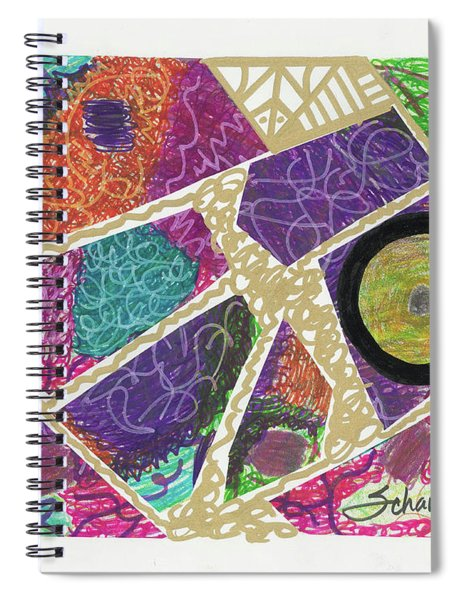 Puzzle Jungle Spiral Notebook