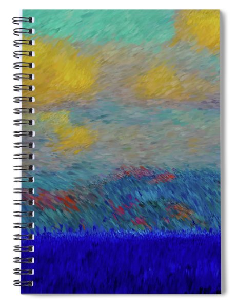 Abstract Landscape Expressions Spiral Notebook