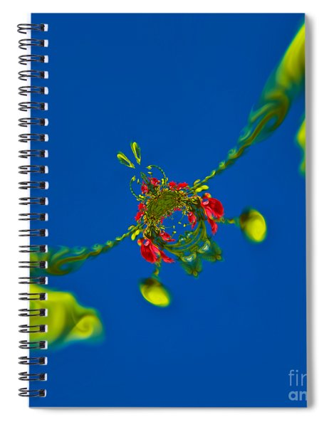 Abstract Lobster 9137205141 Spiral Notebook