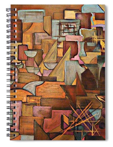 Abstract Mind Spiral Notebook