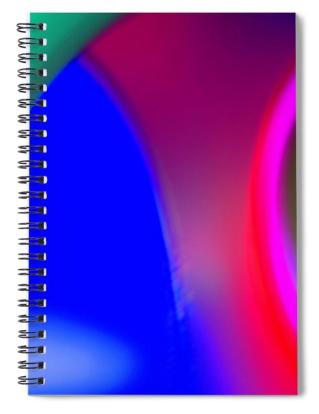 Abstract No. 9 Spiral Notebook