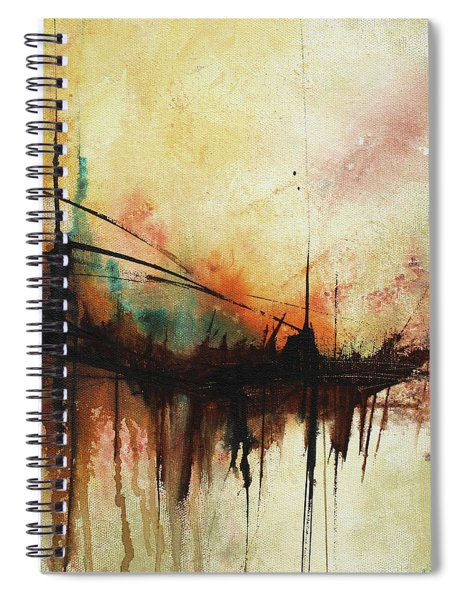 Abstract Painting Contemporary Art Spiral Notebook