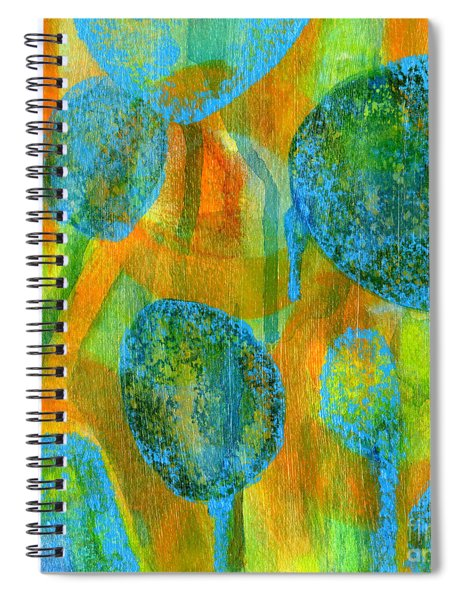 Abstract Painting No. 1 Spiral Notebook