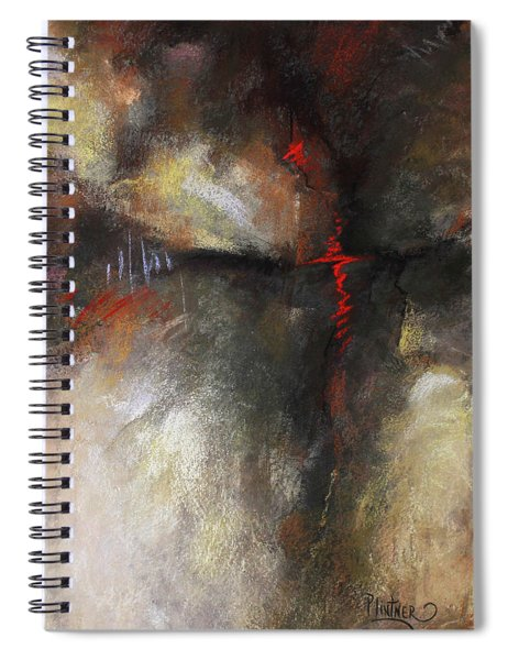 Abstract Pastel 1 Spiral Notebook