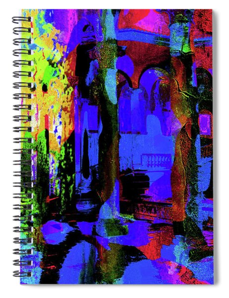 Abstract Series 0177 Spiral Notebook