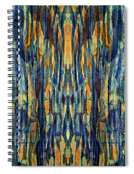 Abstract Symmetry I Spiral Notebook