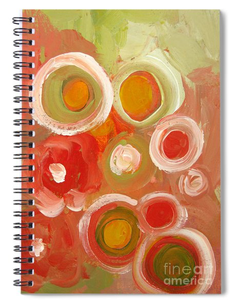 Abstract Viii Spiral Notebook