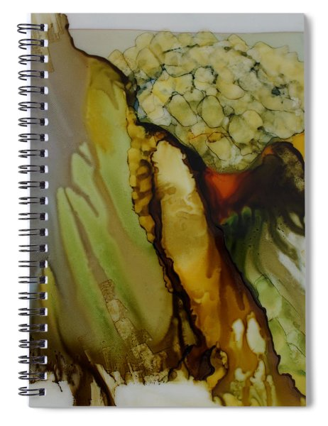 Abstract X Spiral Notebook