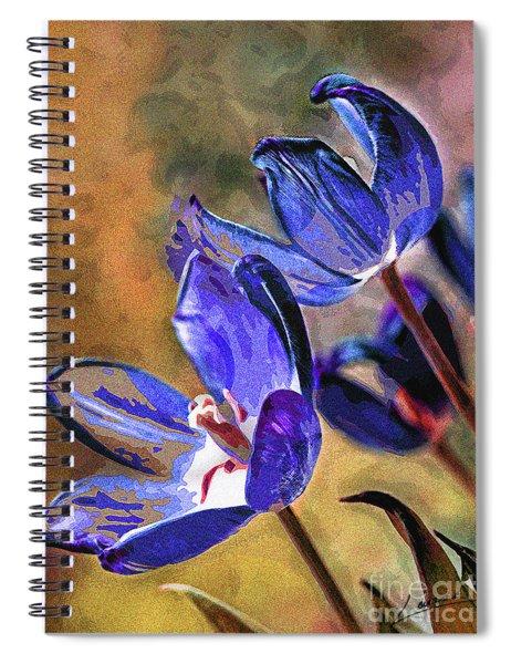 Abstracticus Tuliptimus Spiral Notebook