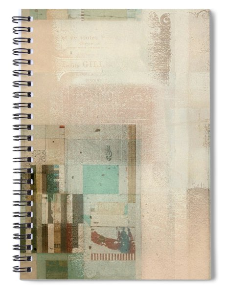 Abstractitude - C01b Spiral Notebook