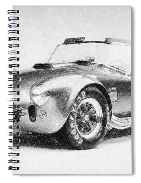 Ac Cobra Shelby 427  Spiral Notebook