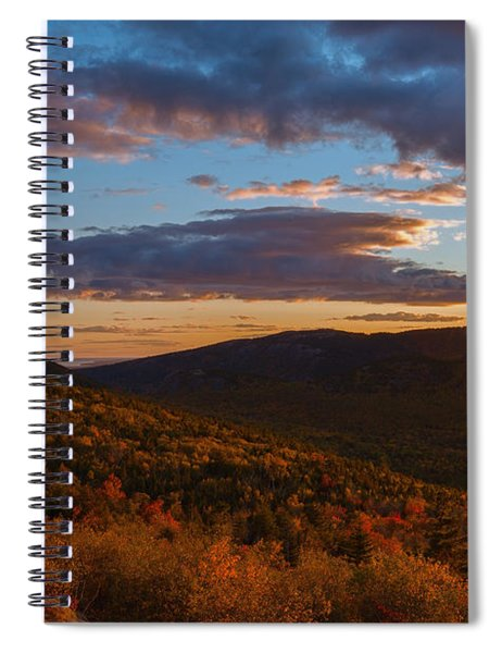 Acadia Sunset Spiral Notebook