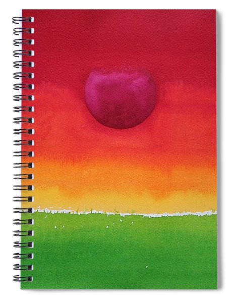 Acceptance Original Painting Spiral Notebook