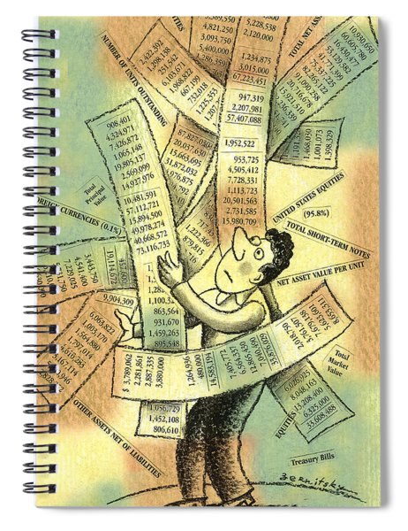 Accounting And Bookkeeping Spiral Notebook