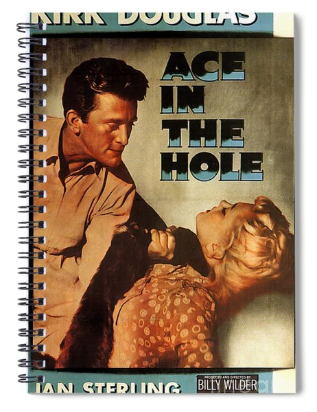 Ace In The Hole Film Noir Spiral Notebook