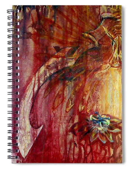 Ace Of Swords Spiral Notebook