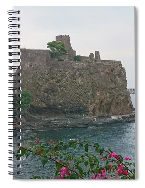 Acicastello, Catania, Sicily Spiral Notebook