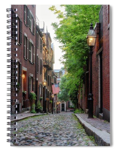 Acorn St. 1 Spiral Notebook