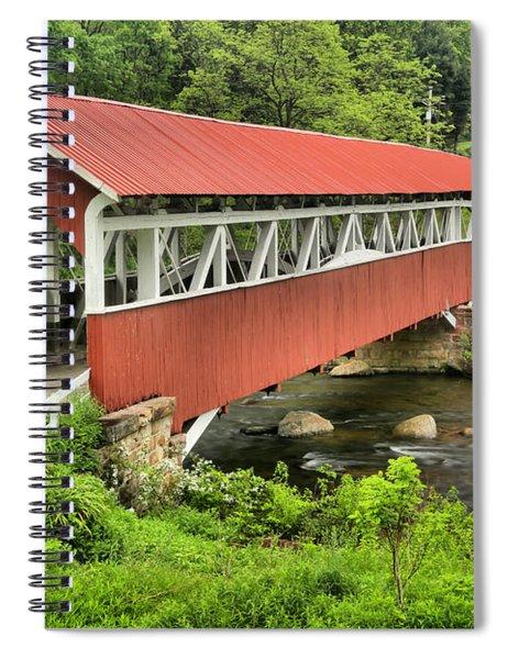 Across Laurel Hill Creek Spiral Notebook
