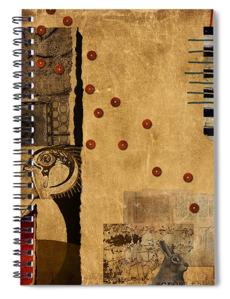 Across The Board Spiral Notebook